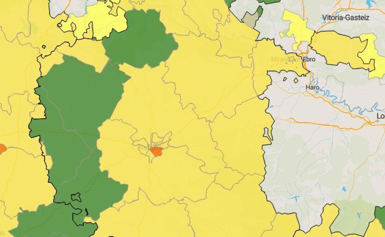 Valle De Sedano Mapa.Sedano Huerta De Rey Y Valle De Losa Unicas Zonas De Salud De Burgos Sin Nuevos Casos De Covid 19 Durante Mas De Quince Dias Burgosconecta