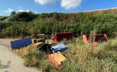 Las escombreras y vertederos ilegales en Burgos siguen proliferando a niveles de años anteriores